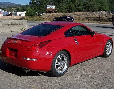 350z after