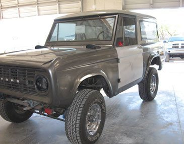 68 bronco before
