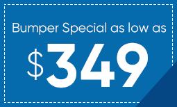 $349 Bumper Repair Coupon