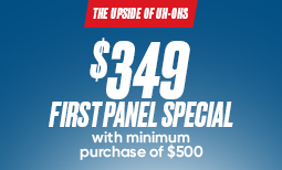 Fall Promo: $349 First Panel Special Coupon